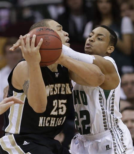 Ohio downs Western Michigan 74-63 in MAC semi