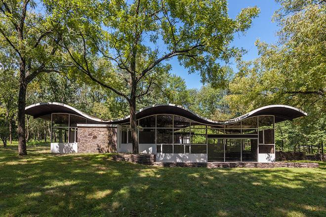 House of the Day: Marvelous Midcentury Home With a Sinuous Roof Asks $695K