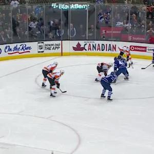 Rob Zepp Save on Dion Phaneuf (10:26/1st)