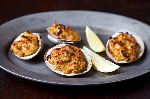 Rose&amp;#39;s Deviled Clams Casino