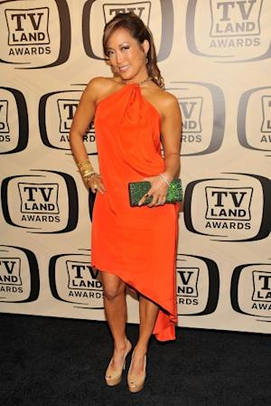 'DWTS' judge Carrie Ann Inaba glows at the 10th Annual TV Land Awards at the Lexington Avenue Armory in New York City on April 14, 2012 -- Getty Images