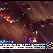 BREAKING: Serious Crash Snarls Traffic On Schuylkill Expressway