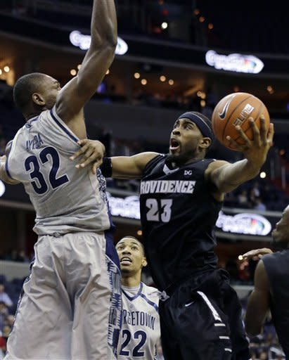 Porter leads Georgetown past Providence 74-65