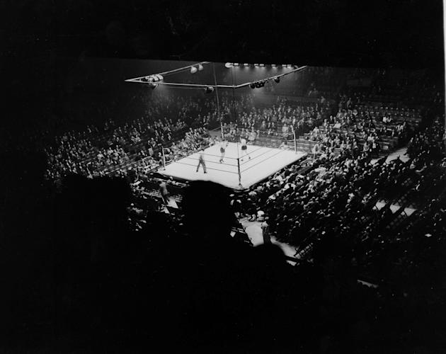 Preliminary Bout At Madison Square Garden