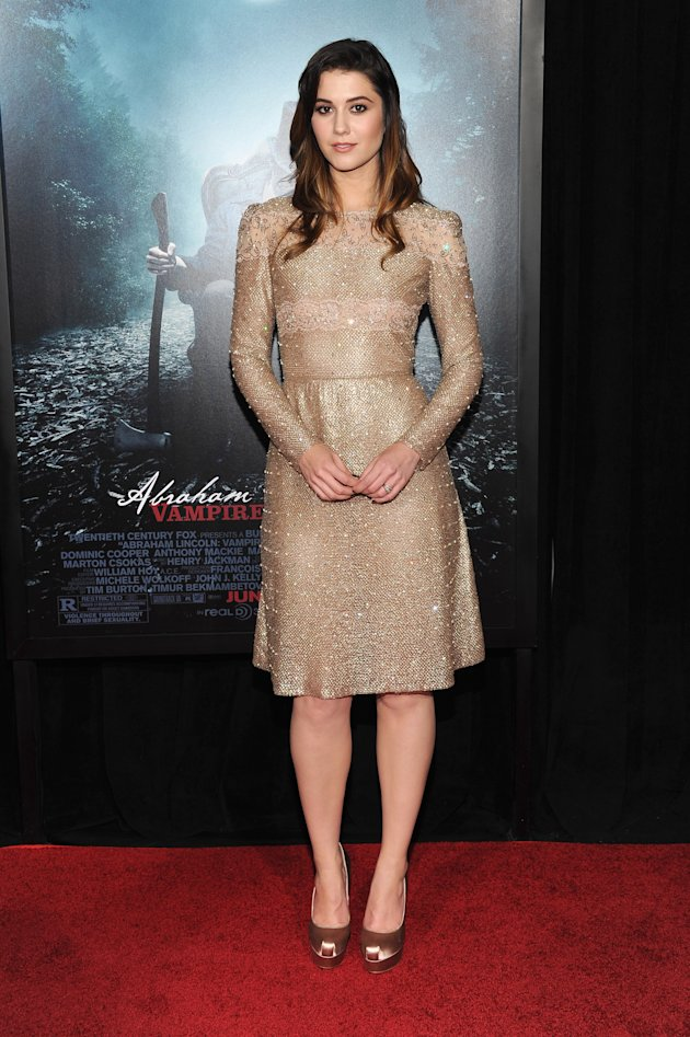 "Mary Elizabeth Winstead at the "" Abraham Lincoln: Vampire Hunter"" NY premiere"