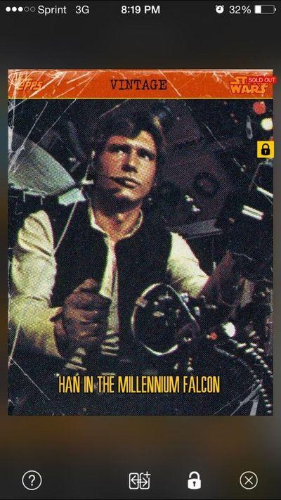 Leave you broke, Star Wars digital trading cards will