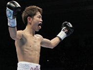 World Boxing Council (WBC) strawweight champion Kazuto Ioka, pictured in 2011, outpointed the World Boxing Association (WBA) minimumweight champion Akira Yaegashi by a unanimous decision on Wednesday
