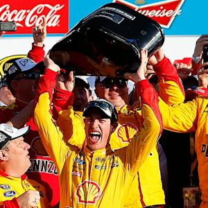 Logano: 'We got a really cool ring'