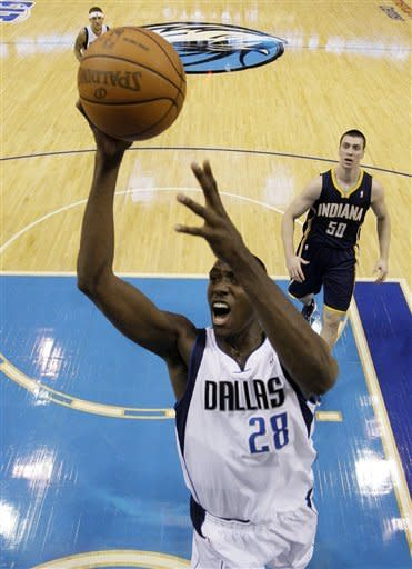 Pacers tops Mavs for 1st win in Dallas in 8 years