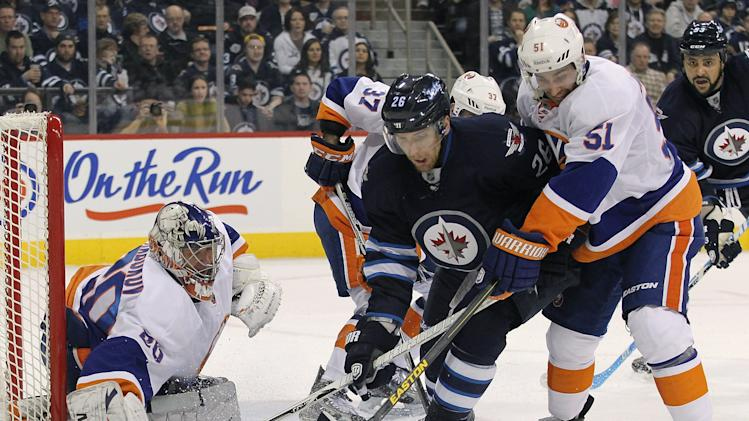 New York Islanders v Winnipeg Jets