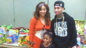 Good Karma: Tyga and Raven Symone Give Back