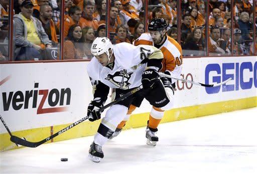 Penguins spoil Flyers' opener in 3-1 win