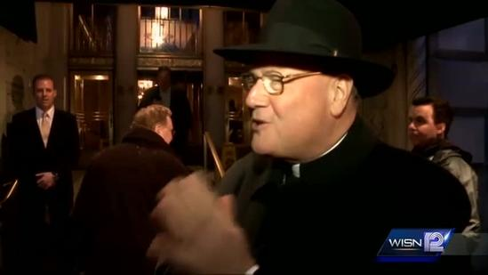 12 News Exclusive interview with Cardinal Dolan