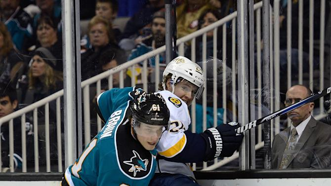 Nashville Predators v San Jose Sharks