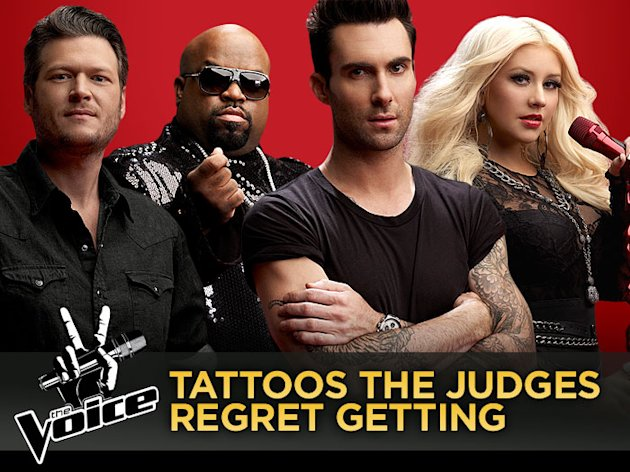 'The Voice' Tattoos …