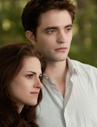 Robert Pattinson and Kristen Stewart in the last episode of the 'Twilight'saga, in cinemas from November 16