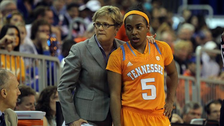 NCAA Womens Basketball: Tennessee at Florida
