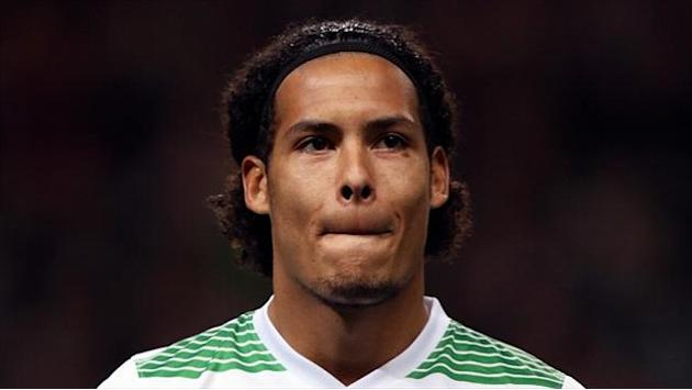 Scottish Football - Hearts win eases Van Dijk guilt