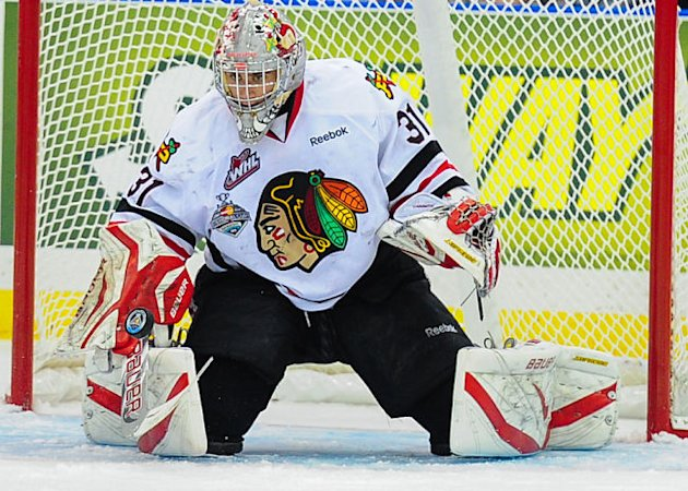 CHL: 2013 Memorial Cup - Portland Winterhawks' Mac Carruth Puts Bad First Game Behind Him