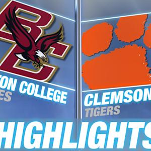 Boston College vs Clemson | 2014-15 ACC Men's Basketball Highlights