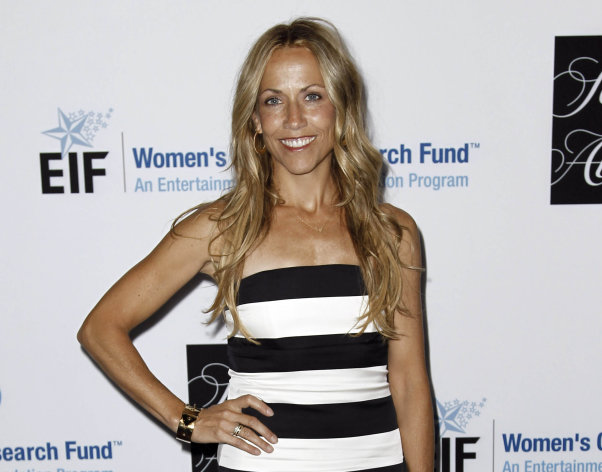 "FILE - This April 18, 2012 file photo shows musician Sheryl Crow at the Entertainment Industry Foundation's ""Unforgettable Evening"" in Beverly Hills, Calif. A judge granted Crow a temporary restraining order against Phillip Gordon Sparks on Tuesday July 24, 2012 in response to online rants and a threat he made publicly to ""just shoot"" the Grammy winner. (AP Photo/Matt Sayles, file)"