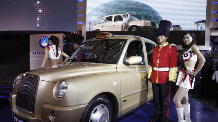 Chinese automaker Geely buys maker of London cabs