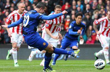 We've given Van Persie stick for his goal celebration, says Evra