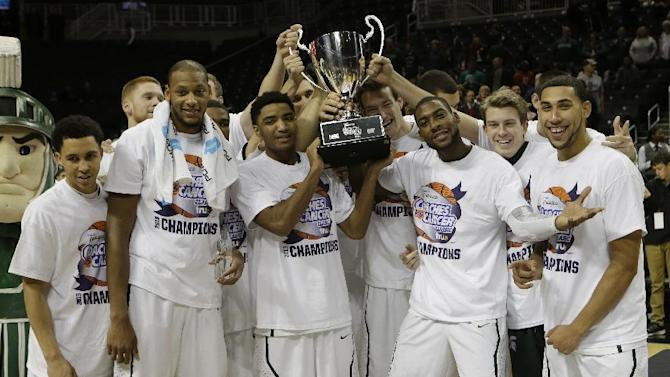 Michigan State stays No. 1 in AP Poll