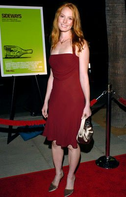Alicia Witt at the Beverly Hills premiere of Fox Searchlight's Sideways