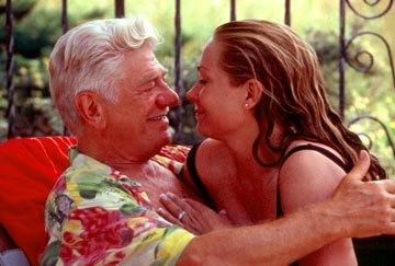 Seymour Cassell and Theresa Russell in Samuel Goldwyn Films' Passionada