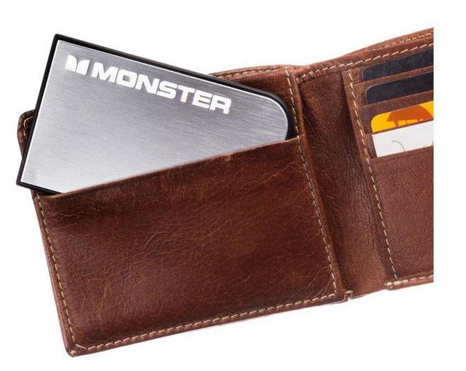 Get a Monster PowerCard mobile charger for $15