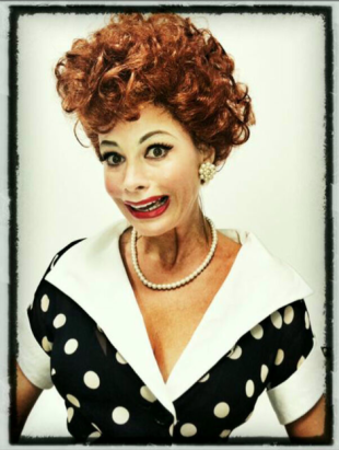 Vergara channels legendary comedienne Lucille Ball.