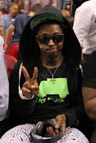 Was Lil Wayne kicked out of Heat game or did he leave on his ow…