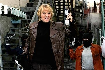 "Owen Wilson as Detective Ken ""Hutch"" Hutchinson in Warner Bros. Starsky & Hutch"