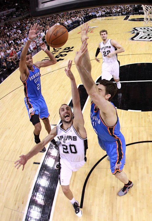 Manu Ginobili #20 Of The San Antonio Spurs Lays Getty Images