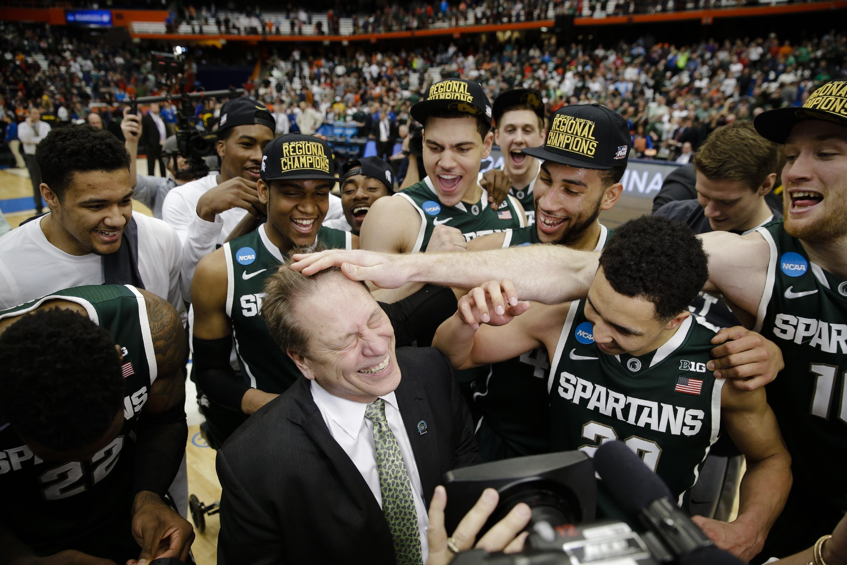 Spartans Final Four-bound after 76-70 OT win over Louisville