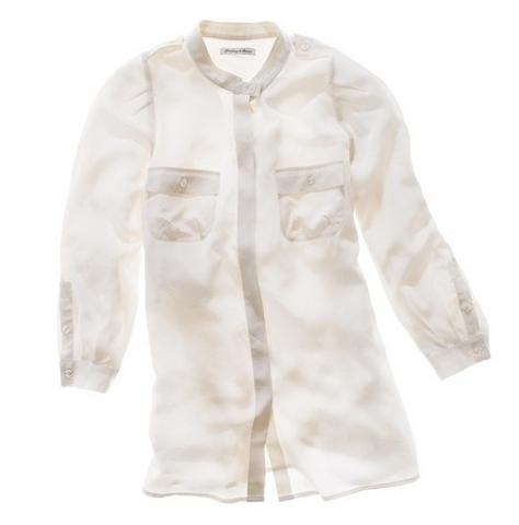 Silk epaulet blouse, $110, at Madewell