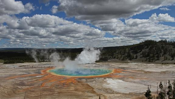 Squeak! Ancient Helium Escaping from Yellowstone