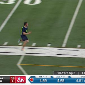2014 Combine workout: Derek Carr