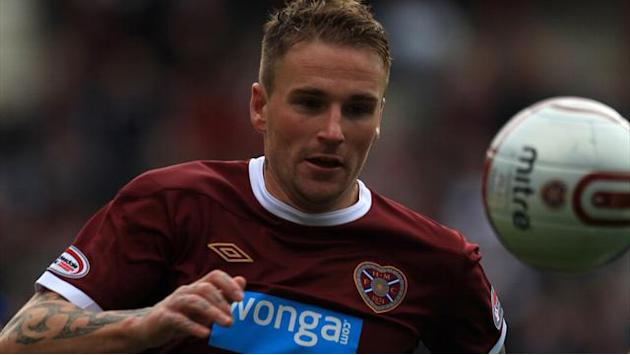 Scottish Football - Stevenson brace as Hearts beat Dundee United