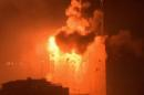 2 tank shells hit fuel tank at Gaza power plant