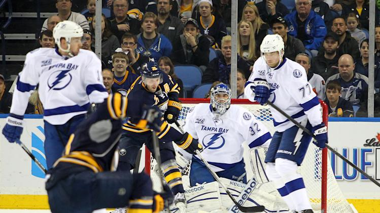 NHL: Tampa Bay Lightning at Buffalo Sabres