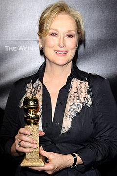Meryl Streep: I Can't Believe I Cursed at the Golden Globes!
