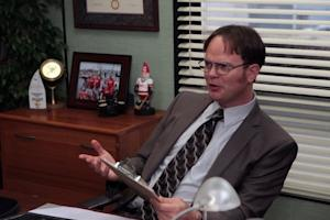 Exclusive Office First Look: A Jealous Dwight Fears Losing Everyone to Jim's 'Stumpany'