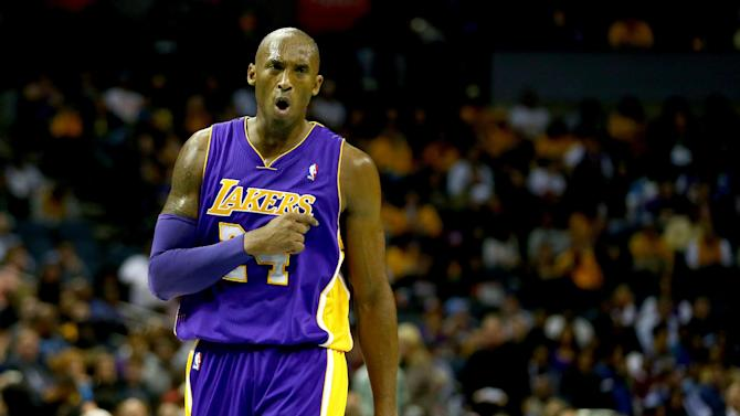Bryant scores 21 points, Lakers top Bobcats 88-85