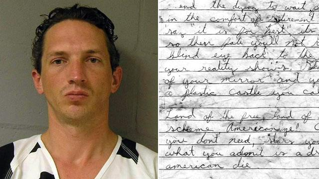 Serial Killer's Creepy Suicide Note