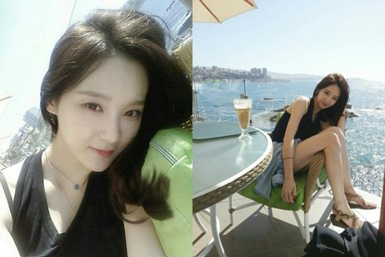 Kang Min Kyung reveals photos from Chile