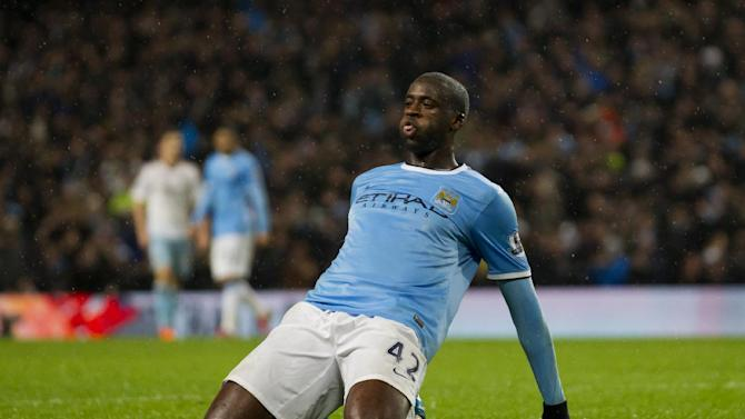 Yaya Toure is Africa player of the year