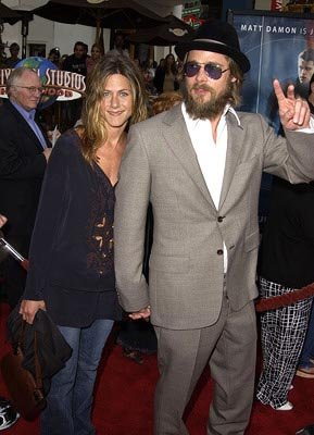 Premiere: Jennifer Aniston and Brad Pitt at the LA premiere of The Bourne Identity - 6/6/2002