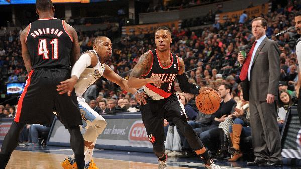 Lillard leads Portland past Denver 100-95